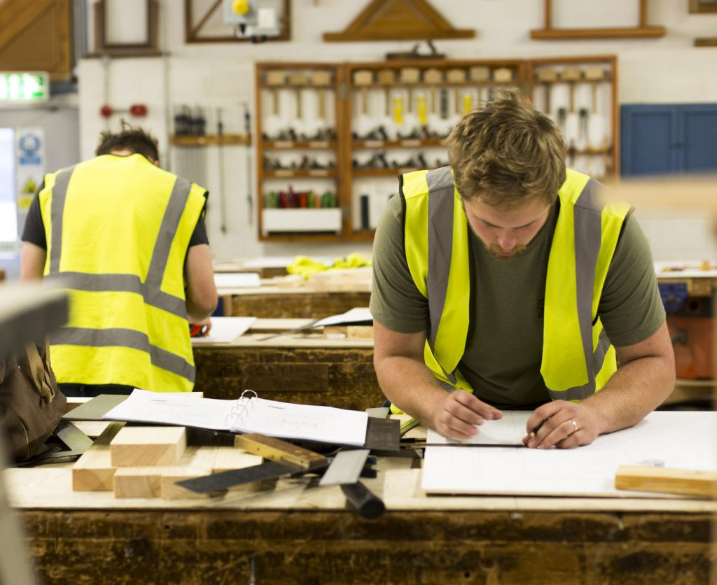Carpentry And Joinery Diploma Level 1 Bridgwater Taunton College